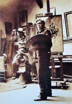 N.C. Wyeth ~ Denver, Colorado  1904. Photo: Unknown via MONDOBLOGO