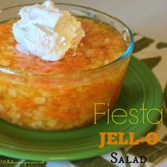 JellO with carrots. My childhood culinary nightmares have become a pin. The horror.