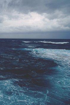 El Azul del Océano Es único.