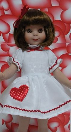Wonderful World of Dolls - Fits 14 Inch Tonner Betsy McCall Doll .. Sweetheart Dress ... D223, $14.75 (http://www.wonderfulworldofdolls.biz/fits-14-inch-tonner-betsy-mccall-doll-sweetheart-dress-d223/)