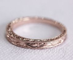 Antique+Design+14k+White+Gold/+Rose+Gold/+Yellow+by+AdamJewelry,+$250.00