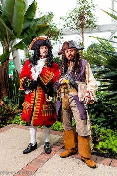 Captain Hook and Jack Sparrow #KatsuCon2014