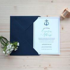 Invitación de boda CADAQUES Summer Of Love, Couple, Sailor Wedding, Wedding Stationery, Wedding Invitations, Summer Time, Photos