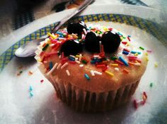 Cupcake casero by my sister