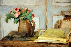 Edouard Vuillard - The Artist's Paint Box and Moss Roses at National Art Gallery Washington DC by mbell1975, via Flickr