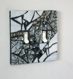 Mosaic Light Switch Cover Wall Plate