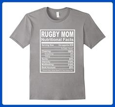 Mens Rugby Mom Nutritional Facts T-Shirt 3XL Slate - Relatives and family shirts (*Amazon Partner-Link)