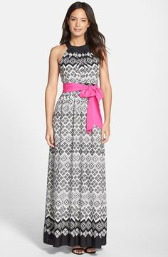 Eliza J Print Halter Maxi Dress available at #Nordstrom-$94.80