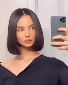 Short Grunge Hair, Short Hair Cuts, Short Straight Hair, Kendall Jenner Short Hair, Short Hair For Women, Short Haircuts For Women, Kpop Short Hair, Hair Streaks, Hair Highlights