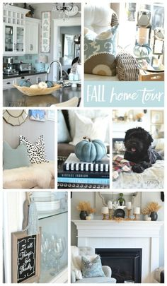 The Canadian Bloggers Home Tours (Fall Decorating) - Featured: A Pop of Pretty Blog Fall Living Room, Autumn Home, Fall Halloween, House Tours, Fall Decorating, Throw Pillows, Pop, Pretty, Inspiration
