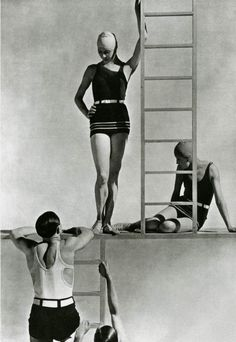 VINTAGE PHOTOGRAPHY: Lelong Bathing Suits by George Hoyningen-Huene 1929
