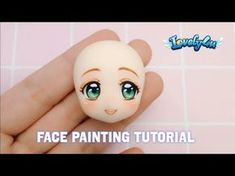 Lovely4u   VO13   Painting figure's face No2   DIY  Drawing tips - YouTube