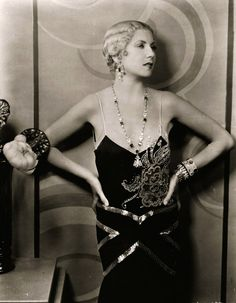 1929 Lilyan Tashman, actress || Valentino Vamp