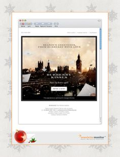 Brand: Burberry   Subject: From Burberry with love...   Sending Date: December 5, 2013