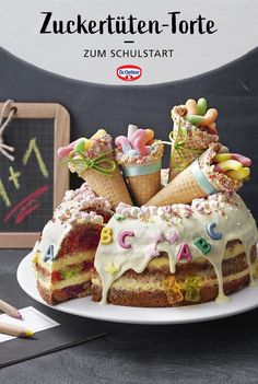 Banana Recipes, Kids Meals, Cupcake Cakes, Cake Decorating, Bakery, Dessert Recipes, Pudding Desserts, Food And Drink, Tasty