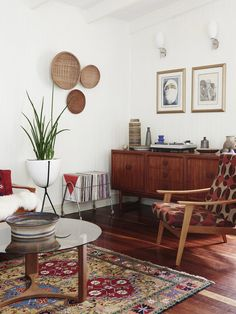 The Brisbane home of Rose Jensen-Holm and Dan James.  Photo – Eve Wilson. Production – Lucy Feagins / The Design Files.