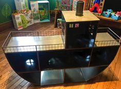 Store and organize your children's toys in this awesome boat at #PeaceOfTheEarth! #ShopLocal #Nulu
