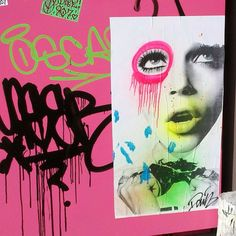 Brooklyn Street Artist DAIN combines old Hollywood glam and a gritty graffiti style to produces works that are both evocative and beautiful in their composition.