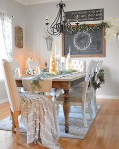 Repose Gray paint color SW 7015 by Sherwin-Williams. View interior and exterior paint colors and color palettes. Get design inspiration for painting projects. Decor, Repose Gray, Room, Crystal Chandelier, Table Decorations, Repose Gray Paint, Rustic Dining Table, Exterior Paint Colors, Grey Paint