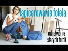 Odnawianie starego fotela - YouTube Youtube, Diy, Bricolage, Handyman Projects, Youtubers, Do It Yourself, Fai Da Te, Youtube Movies, Crafting
