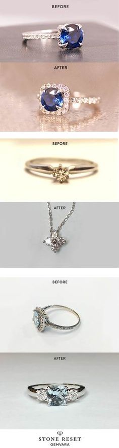 Something old and something new! Don't let your jewelry collect dust - transform your loved pieces into a design you'll actually wear with Stone Reset.