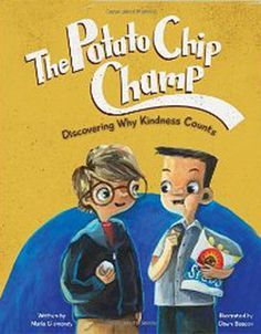 The Potato Chip Champ is an excellent book for all ages that teaches about kindness, compassion, and empathy. We watch as the main character's thoughts and feelings change throughout the book, and cheer as he realizes true friendship by the end of the book.