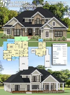 traditional home with great floor plan