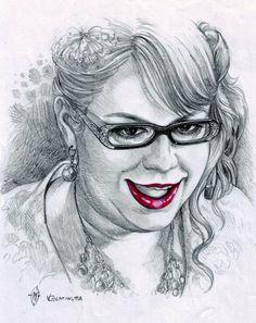 Penelope Garcia by whiteshaix.deviantart.com on @DeviantArt