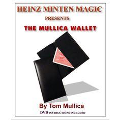 Mullica Wallet (with DVD) by Heinz Minten and Tom Mullica - A selected card appears in a wallet within another wallet. No palming required!!! Spectator selects a card and the magician takes a wallet from either his pocket, or which has been lying on the table all time. Stating that the selected card will be found in this wallet the magician opens it. ... get it here: http://www.wizardhq.com/servlet/the-17796/mullica-wallet-with-dvd-by-heinz-minten-and-tom-mullica/Detail?source=pintrest