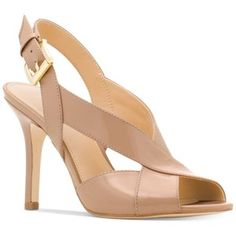 For the LK Bennett Sliver Taupe Patent Sandals