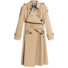 Burberry Deconstructed Trench Coat With Regimental Piping (170.895 RUB) ❤ liked on Polyvore featuring outerwear, coats, jackets, coats & jackets, casacos, burberry trenchcoat, striped trench coat, burberry, beige coat and weatherproof coats