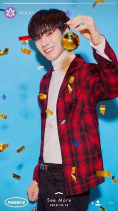 ASTRO is the second artist revealed for Fantagio's last 'FM project Park Jin Woo, Winter Songs, Fandom, Fans Cafe, Sanha, Minhyuk, Btob, Xmas, Rapper