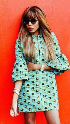 ♡African Print in Fashion Dpipertwins ig