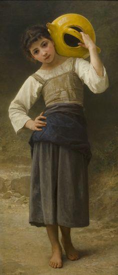 Pintura a óleo de William Adolphe Bouguereau