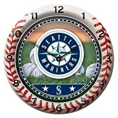 Seattle Mariners Clocks | SeattleTeamGear.com