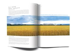 Agropur Annual Report - Pure on Behance