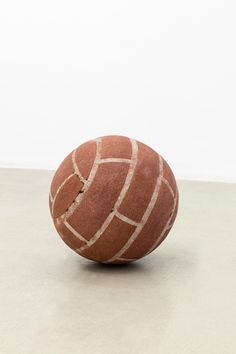 """artoverbros: """"Ball in remembrance of Annette Wehrmann by Judith Hopf """""""