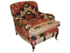 George Smith Kilim Chair