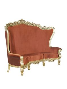 Large Absolom Roche Curved Sofa by Fabulous and Baroque on Gilt Home    Different color, but you get the idea