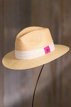 Gadsden Matte Raffia Safari Hat
