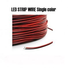 2-Pin Wire Extension Connector Cable For Single LED Strip Light 3528 5050