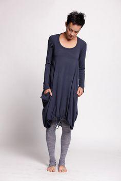 Pullover-Kleid mit langen Ärmeln von duende74 auf Etsy