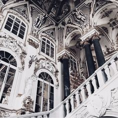 pin- oliviajaack ☽ Baroque Architecture, Ancient Architecture, Beautiful Architecture, Interior Architecture, Fashion Architecture, Classical Architecture, Sustainable Architecture, Landscape Architecture, View Photos