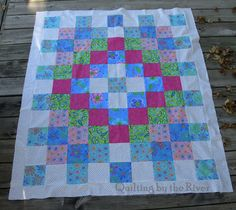 Freemotion by the River: Worldly Lil Twister quilt