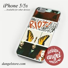 Paramore Riot Phone case for iPhone 4/4s/5/5c/5s/6/6 plus