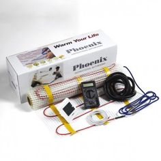 Phoenix Underfloor Heating Kit - Various Sizes Available Small Shower Room, Small Showers, Bath Or Shower, Best Radiators, Electric Underfloor Heating, Square Meter, Phoenix, Clean Eating, Fiction