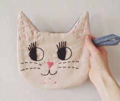 gatos bordados - Buscar con Google