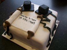 bar mitzvah tefillin cake