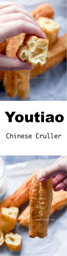 Youtiao, Chinese cruller, Chinese oil stick ChinaSichuanFood.com