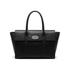 Mulberry - New Bayswater in Black Small Classic Grain
